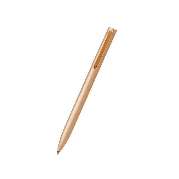 Xiaomi mi rollerball pen aluminio dorado bolígrafo de punta fina de alta calidad y diseño minimalista