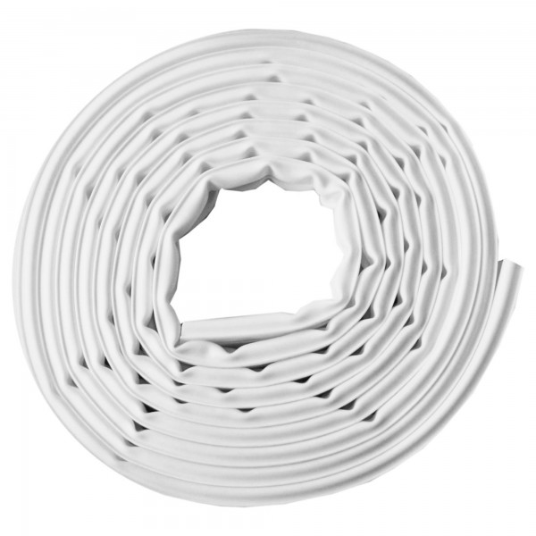 Burlete silicona 6m.x 9 mm. blanco