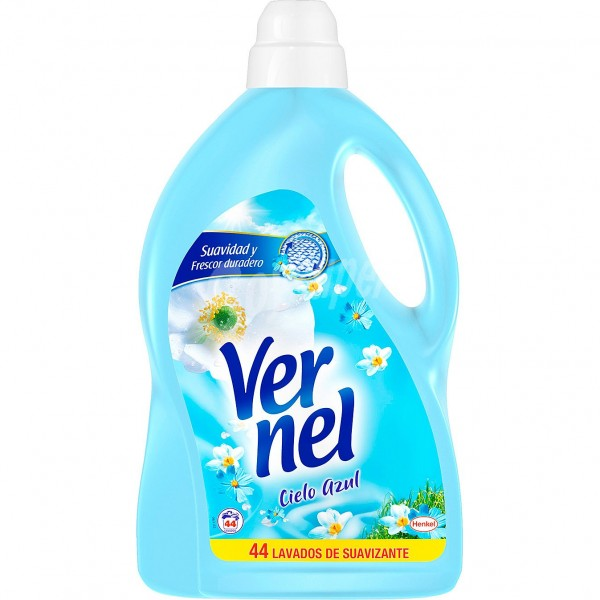 Vernel suavizante cielo azul 44 lavados