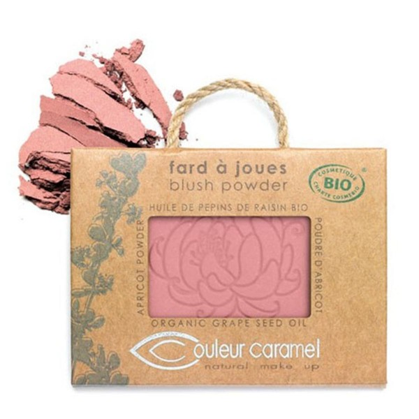 Couleur caramel fard a joues blush polvos 53 light pink