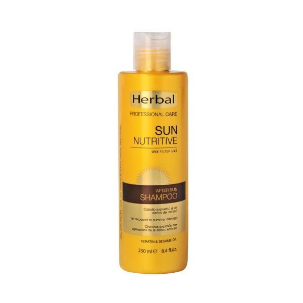Herbal professional care sun nutritive uva filter after sun champu 250ml
