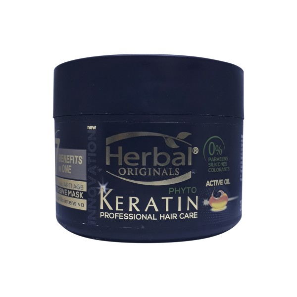 Herbal hispania originals phyto-keratin mascarilla 7 benefits in one bb cream an 300ml