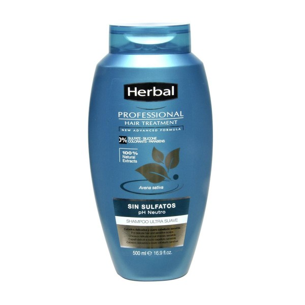 Herbal professional tratamiento sin sulfatos ph neutro champu 500ml