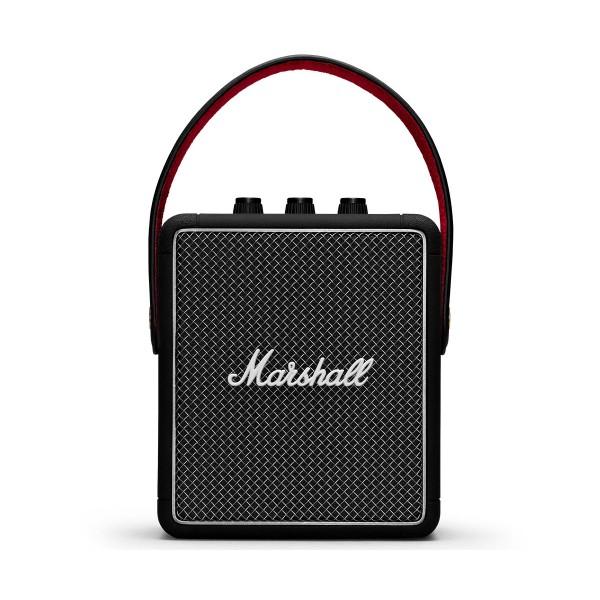 Marshall stockwell ii negro altavoz portátil bluetooth 20w de diseño compacto vintage