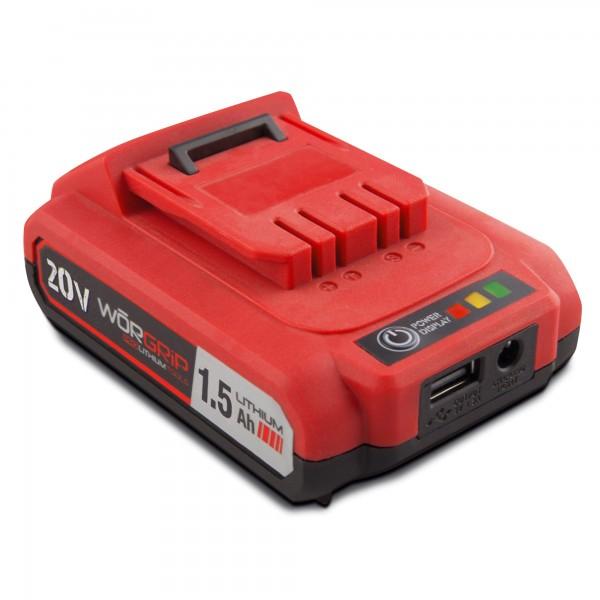 Bateria worgrip-pro 20v. 1.5ah.