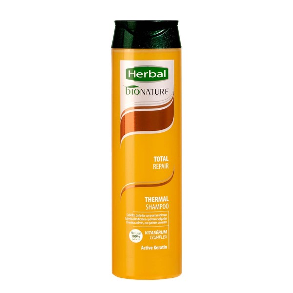 Herbal bionature total repair thermal shampoo 350ml