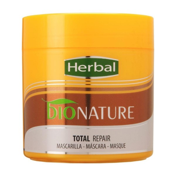 Herbal bionature total repair mascarilla 400ml