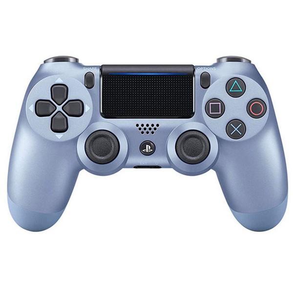 Sony dualshock 4 version 2 azul titanio mando inalámbrico para ps4