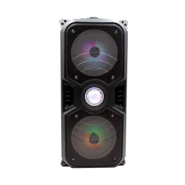 Lauson llx33 negro altavoz inalámbrico portátil 70w bluetooth karaoke fm luces usb sd