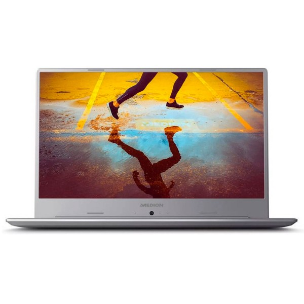 Medion s6445 plata portátil 15.6'' ips fullhd i3-8145u 3.9ghz 256gb ssd 8gb ram w10 home