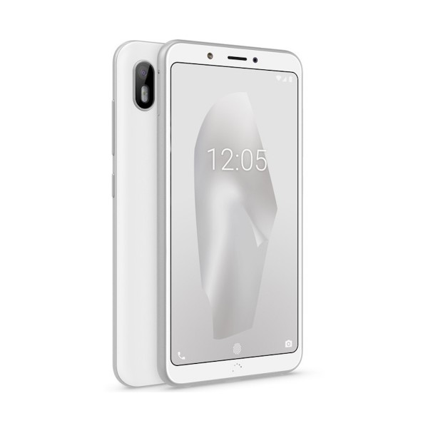 Bq aquaris c blanco móvil 4g 5.45'' ips hd+/4core/16gb/2gb ram/13mp/5mp