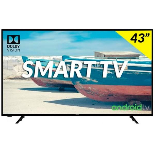 Hitachi 43hak5751 televisor 43'' led hdr 4k smart android tv 1200bpi hdmi usb