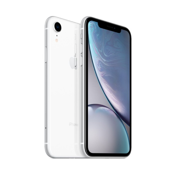Apple iphone xr 128gb blanco reacondicionado cpo móvil 4g 6.1'' liquid retina hd led hdr/6core/128gb/3gb ram/12mp/7mp