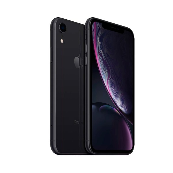 Apple iphone xr 128gb negro reacondicionado cpo móvil 4g 6.1'' liquid retina hd led hdr/6core/128gb/3gb ram/12mp/7mp