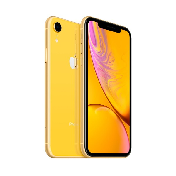Apple iphone xr 64gb amarillo reacondicionado cpo móvil 4g 6.1'' liquid retina hd led hdr/6core/64gb/3gb ram/12mp/7mp