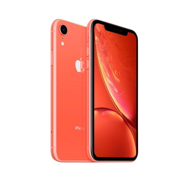 Apple iphone xr 64gb coral reacondicionado cpo móvil 4g 6.1'' liquid retina hd led hdr/6core/64gb/3gb ram/12mp/7mp