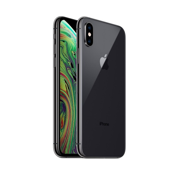 Apple iphone xs 256gb silver grey reacondicionado cpo móvil 4g 5.8'' super retina hd oled hdr/6core/256gb/4gb ram/12mp+12mp/7mp