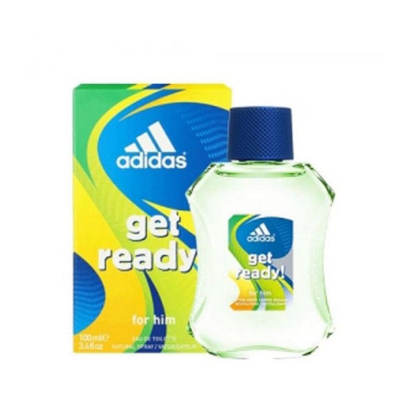 Adidas get ready for him eau de toilette 100ml vaporizador